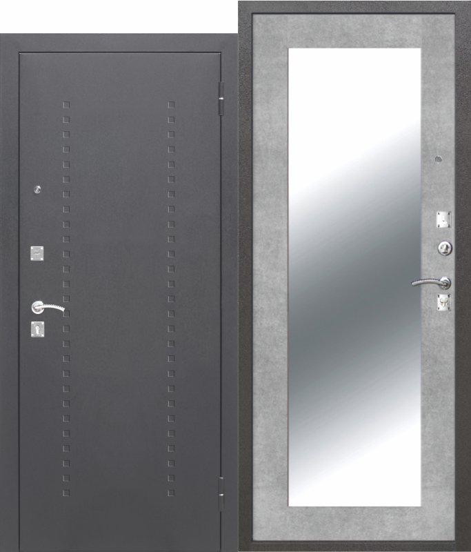 DOMINANTA Серебро Зеркало бетон серый