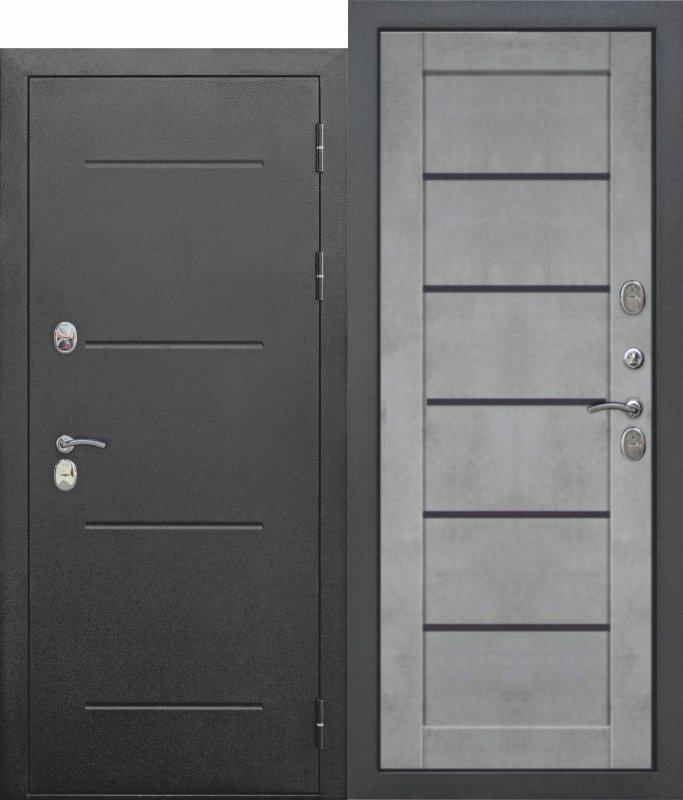 11 см ISOTERMA Букле чёрный Царга Бетон серый