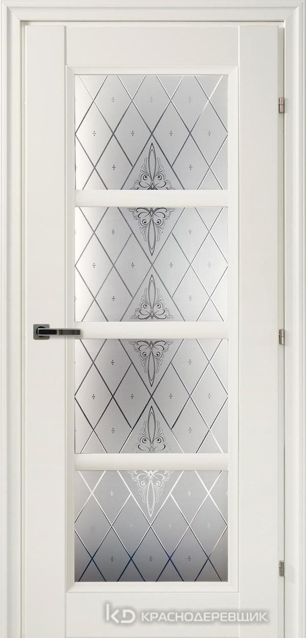 3000 БелыйCPL Дверь 3340 ДО 21- 9 (пр/л), с фурн., Роса
