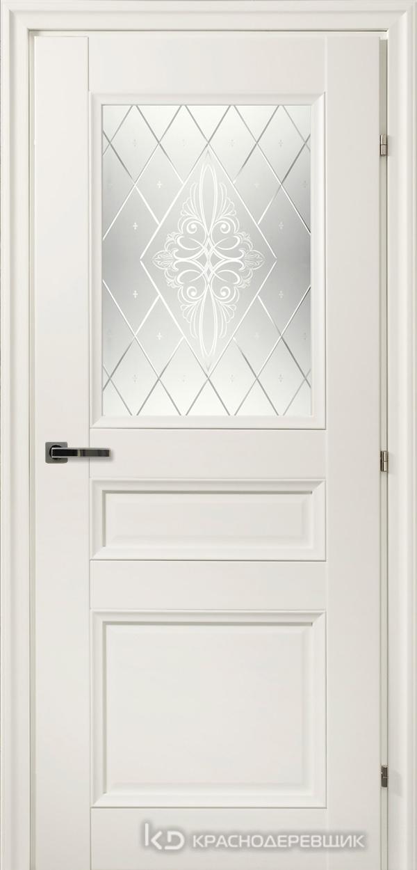 3000 БелыйCPL Дверь 3342 ДО 21- 9 (пр/л), с фурн., Роса