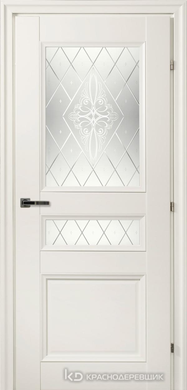 3000 БелыйCPL Дверь 3344Ф ДО 21- 9 (пр/л), с фурн., Роса