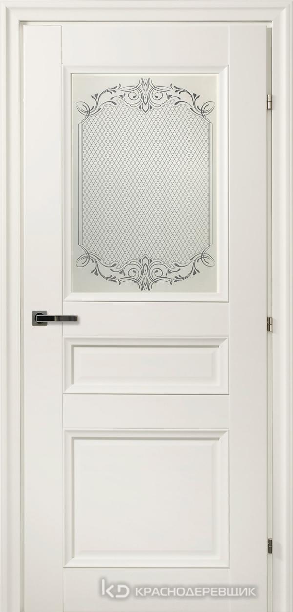 3000 БелыйCPL Дверь 3342 ДО 21- 9 (пр/л), с фурн., Денор