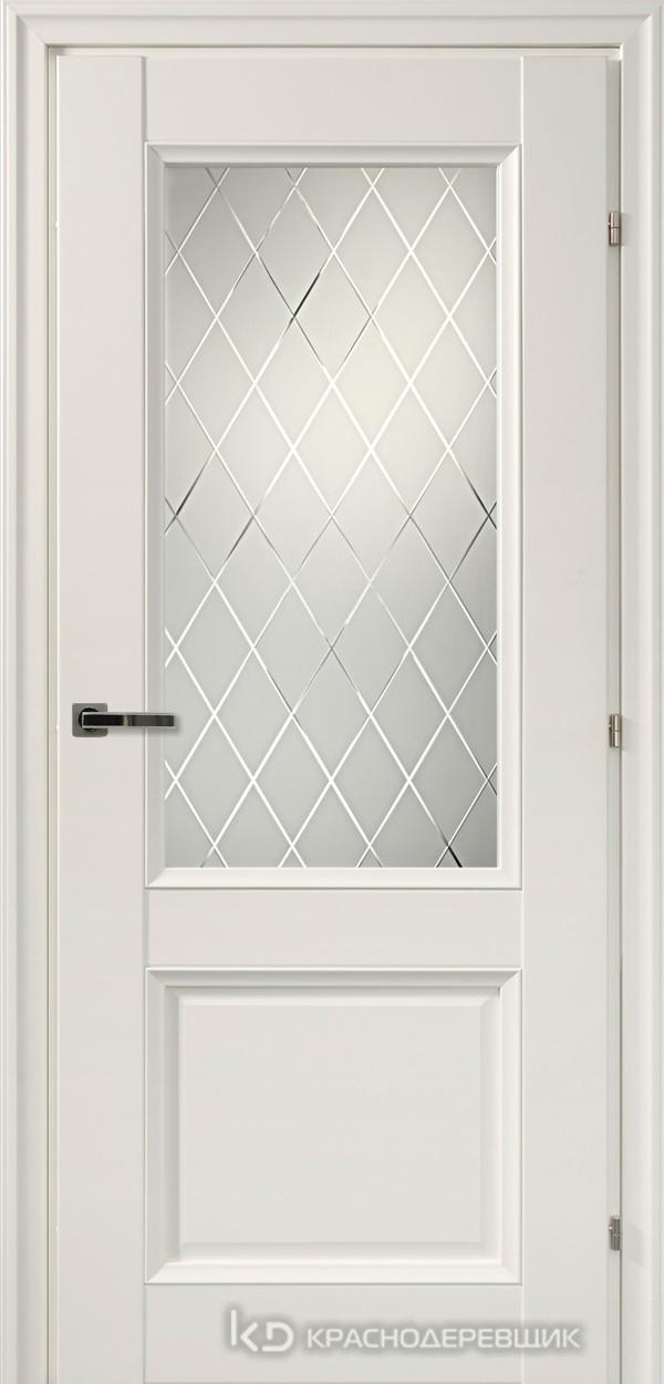 3000 БелыйCPL Дверь 3324Ф ДО 21- 9 (пр/л), с фурн., Кристалл