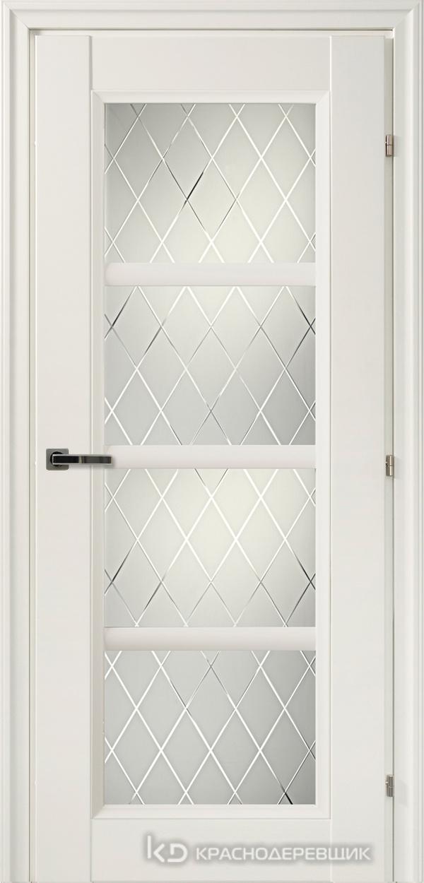 3000 БелыйCPL Дверь 3340 ДО 21- 9 (пр/л), с фурн., Кристалл
