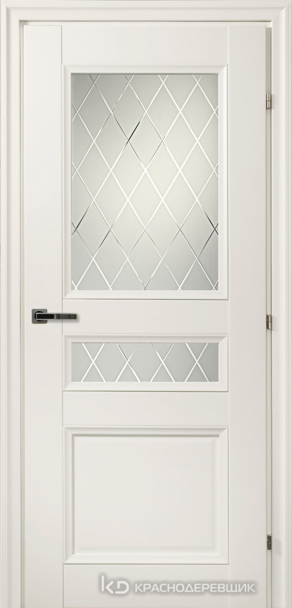 3000 БелыйCPL Дверь 3344Ф ДО 21- 9 (пр/л), с фурн., Кристалл