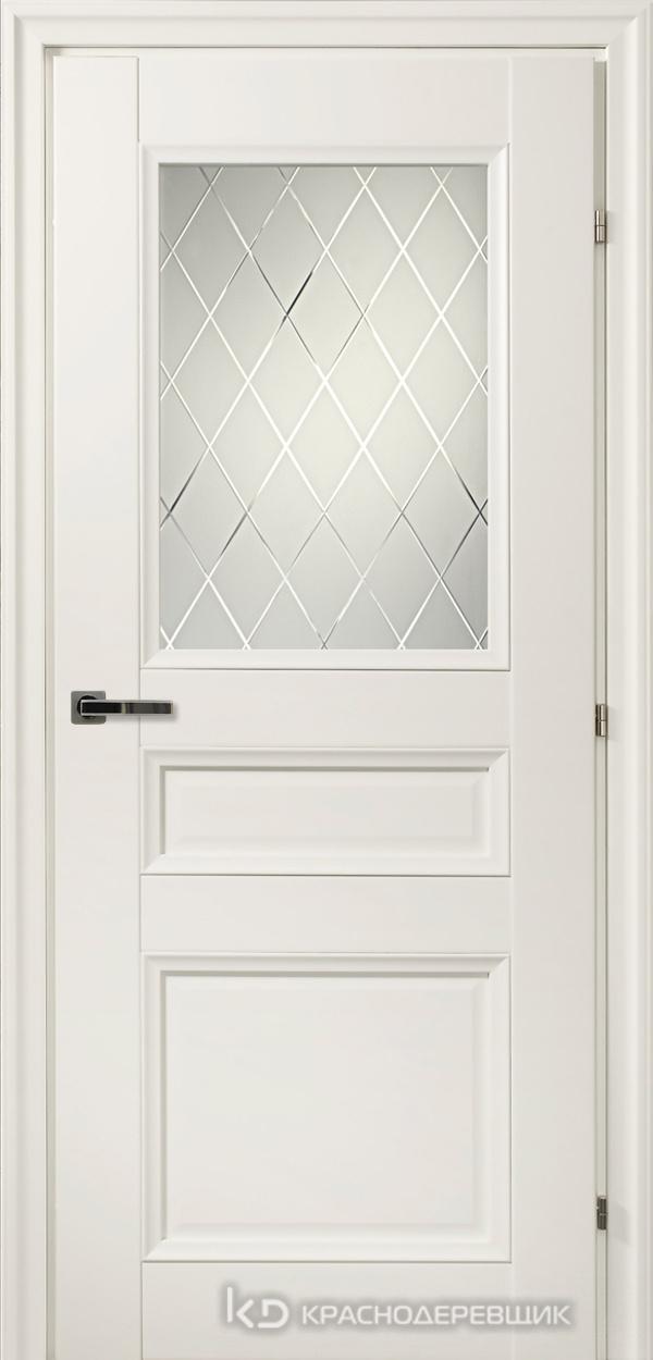 3000 БелыйCPL Дверь 3342 ДО 21- 9 (пр/л), с фурн., Кристалл