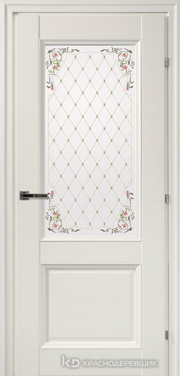 3000 БелыйCPL Дверь 3324Ф ДО 21- 9 (пр/л), с фурн., Франц.сетка
