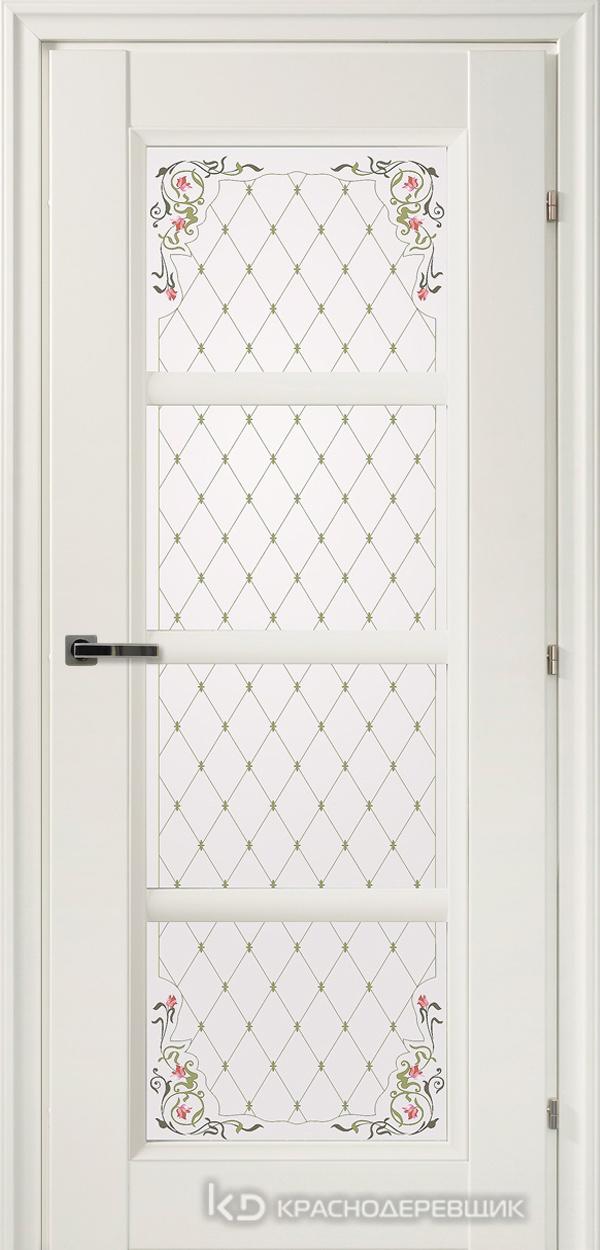3000 БелыйCPL Дверь 3340 ДО 21- 9 (пр/л), с фурн., Франц.сетка