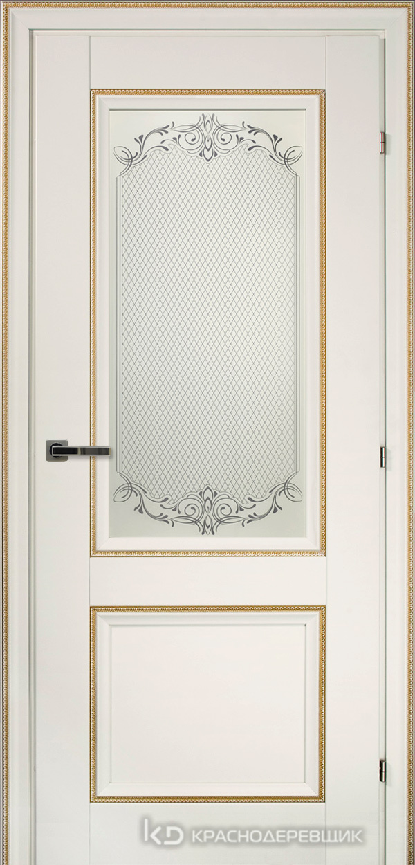 3000 БелыйДекорКосичкаCPL Дверь 3324 ДО 21- 9 (пр/л), с фурн., Денор