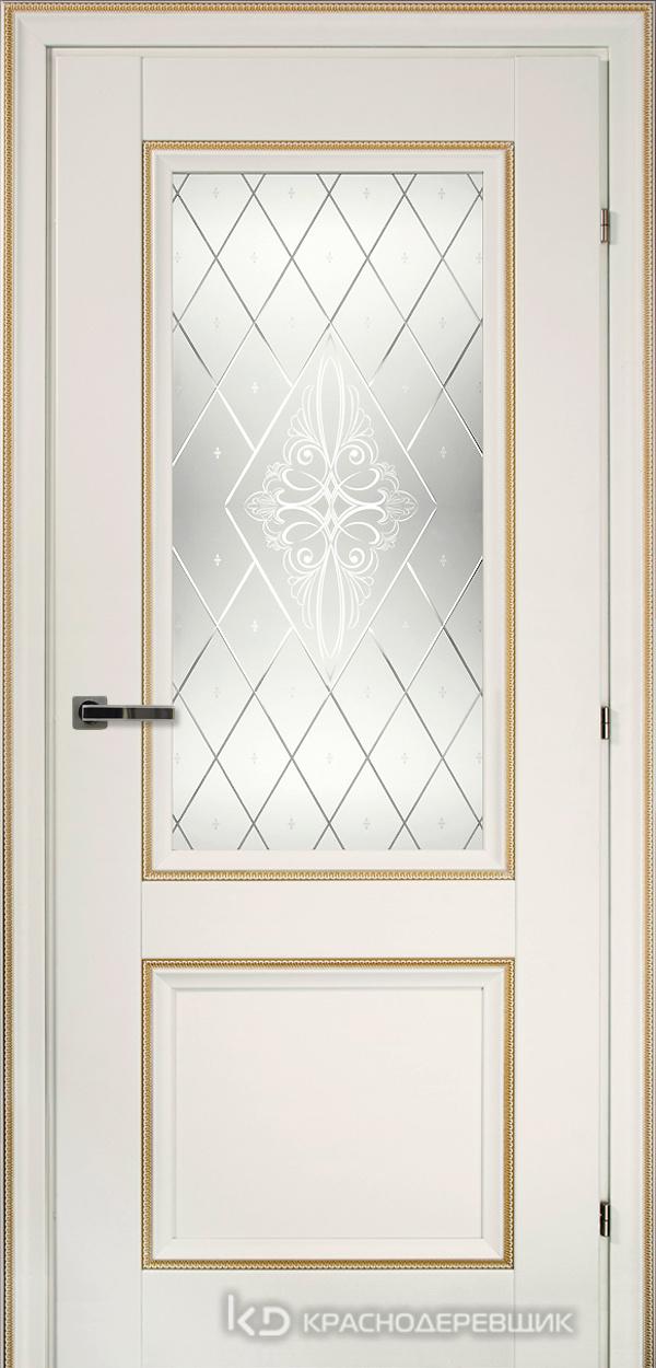3000 БелыйДекорКосичкаCPL Дверь 3324 ДО 21- 9 (пр/л), с фурн., Роса