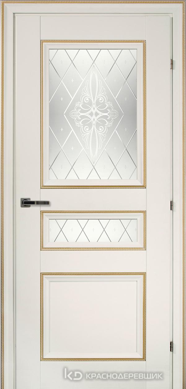 3000 БелыйДекорКосичкаCPL Дверь 3344 ДО 21- 9 (пр/л), с фурн., Роса