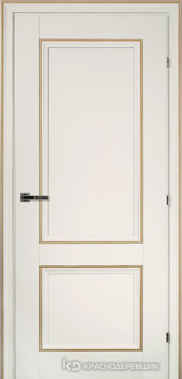 3000 БелыйДекорКосичкаCPL Дверь 3323 ДГ 21- 9 (пр/л), с фурн.