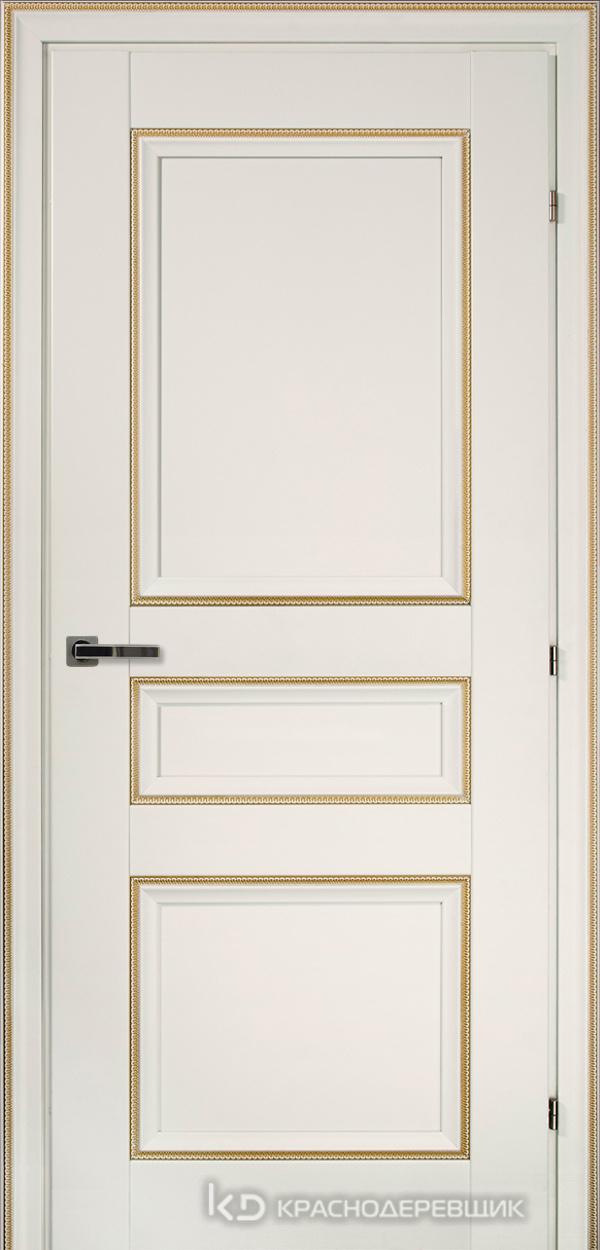 3000 БелыйДекорКосичкаCPL Дверь 3343 ДГ 21- 9 (пр/л), с фурн.