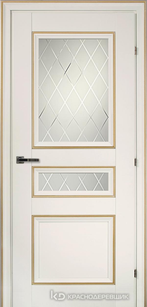 3000 БелыйДекорКосичкаCPL Дверь 3344 ДО 21- 9 (пр/л), с фурн., Кристалл