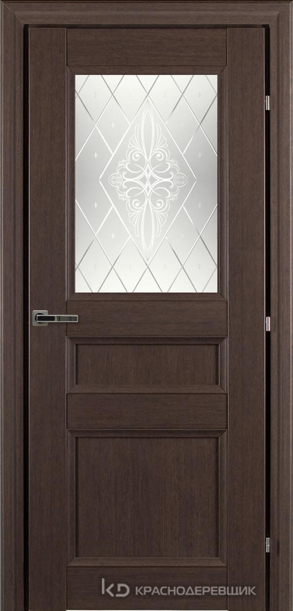 3000 ЧДубS Дверь 3342 ДО 21- 9 (пр/л), с фурн., Роса
