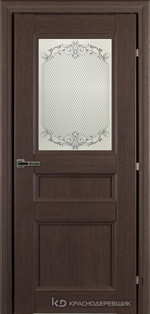 3000 ЧДубS Дверь 3342 ДО 21- 9 (пр/л), с фурн., Денор