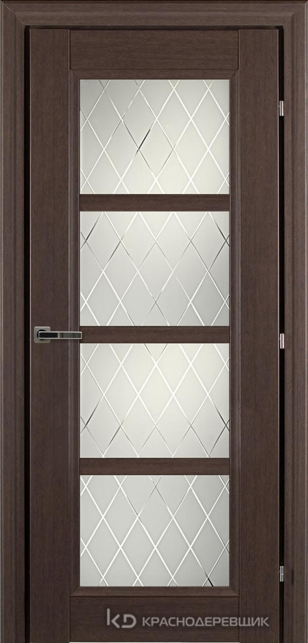 3000 ЧДубS Дверь 3340 ДО 21- 9 (пр/л), с фурн., Кристалл