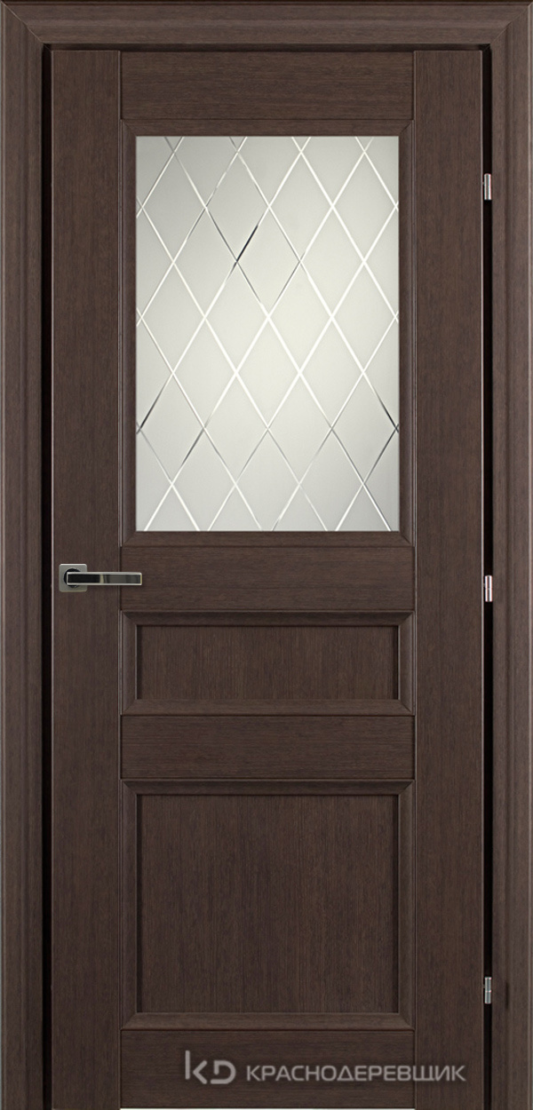 3000 ЧДубS Дверь 3342 ДО 21- 9 (пр/л), с фурн., Кристалл