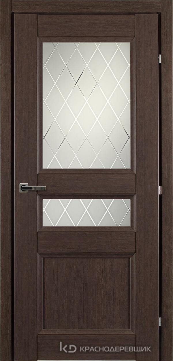 3000 ЧДубS Дверь 3344 ДО 21- 9 (пр/л), с фурн., Кристалл