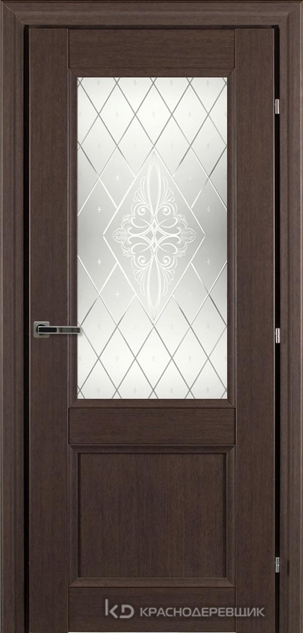 3000 ЧДубS Дверь 3324 ДО 21- 9 (пр/л), с фурн., Роса