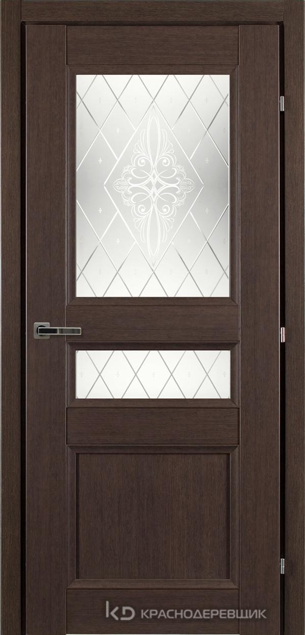 3000 ЧДубS Дверь 3344 ДО 21- 9 (пр/л), с фурн., Роса