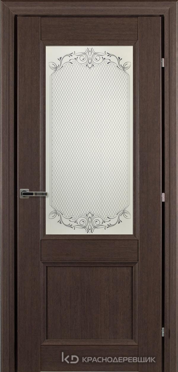 3000 ЧДубS Дверь 3324 ДО 21- 9 (пр/л), с фурн., Денор