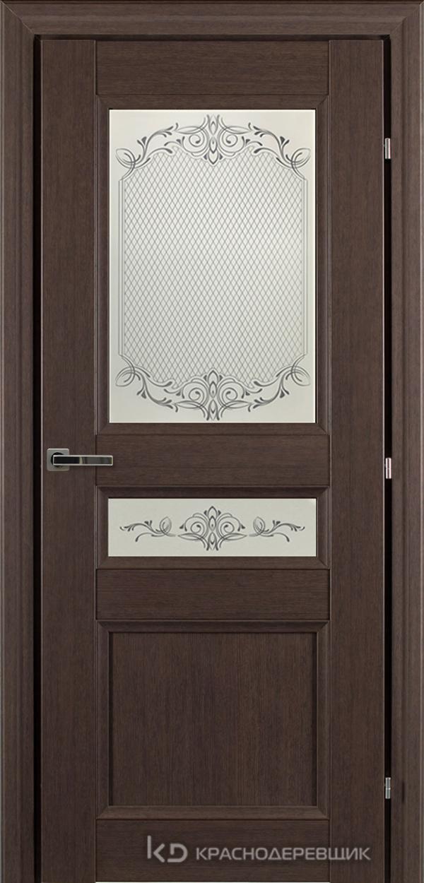 3000 ЧДубS Дверь 3344 ДО 21- 9 (пр/л), с фурн., Денор