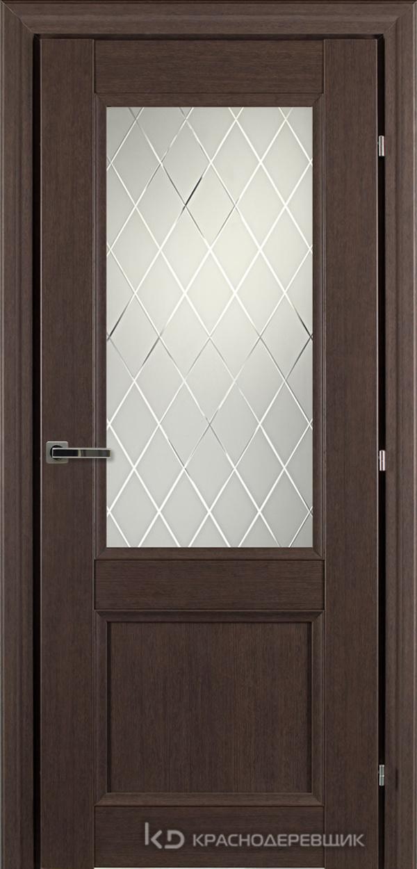 3000 ЧДубS Дверь 3324 ДО 21- 9 (пр/л), с фурн., Кристалл