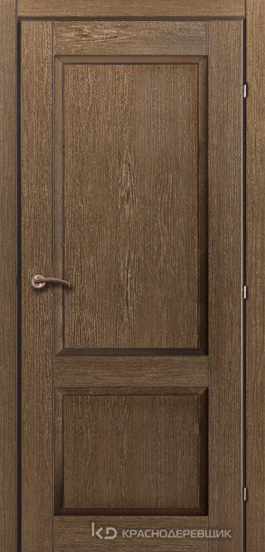 3000 ДубРиэльCPL Дверь 3323 ДГ 21- 9 (пр/л), с фурн.