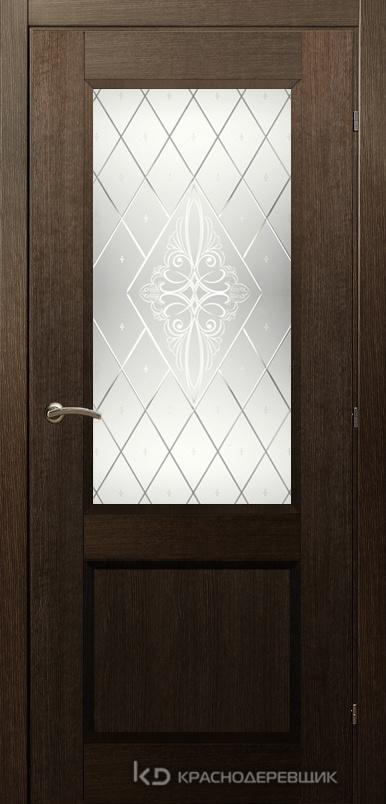 3000 ДубШервудCPL Дверь 3324 ДО 21- 9 (пр/л), с фурн., Роса