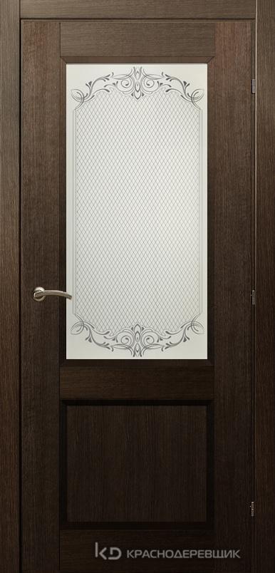 3000 ДубШервудCPL Дверь 3324 ДО 21- 9 (пр/л), с фурн., Денор