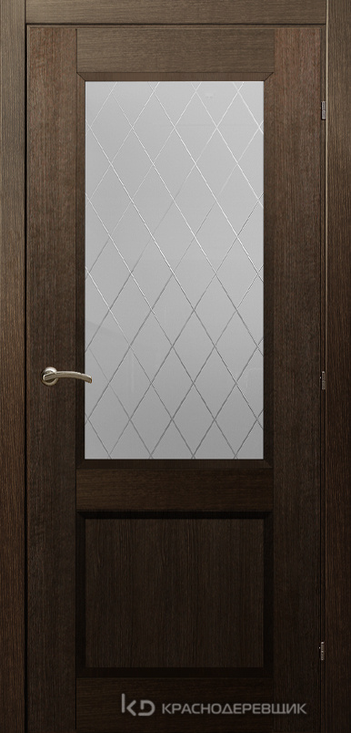 3000 ДубШервудCPL Дверь 3324 ДО 21- 9 (пр/л), с фурн., Кристалл