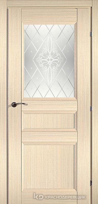 3000 ДубВыбS Дверь 3342 ДО 21- 9 (пр/л), с фурн., Роса