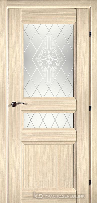 3000 ДубВыбS Дверь 3344 ДО 21- 9 (пр/л), с фурн., Роса