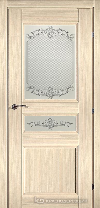 3000 ДубВыбS Дверь 3344 ДО 21- 9 (пр/л), с фурн., Денор