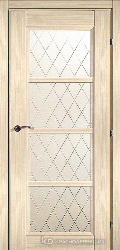 3000 ДубВыбS Дверь 3340 ДО 21- 9 (пр/л), с фурн., Кристалл