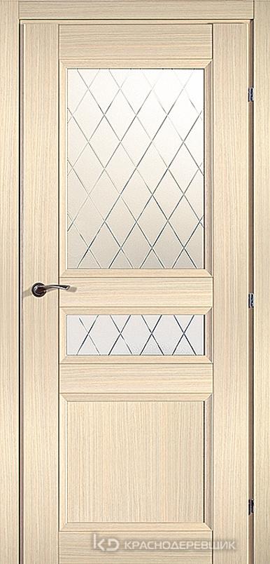 3000 ДубВыбS Дверь 3344 ДО 21- 9 (пр/л), с фурн., Кристалл