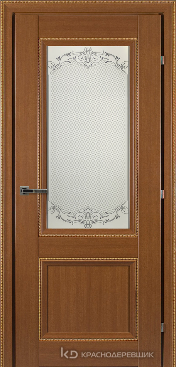 3000 ГрОрехДекорКосичкаCPL Дверь 3324 ДО 21- 9 (пр/л), с фурн., Денор