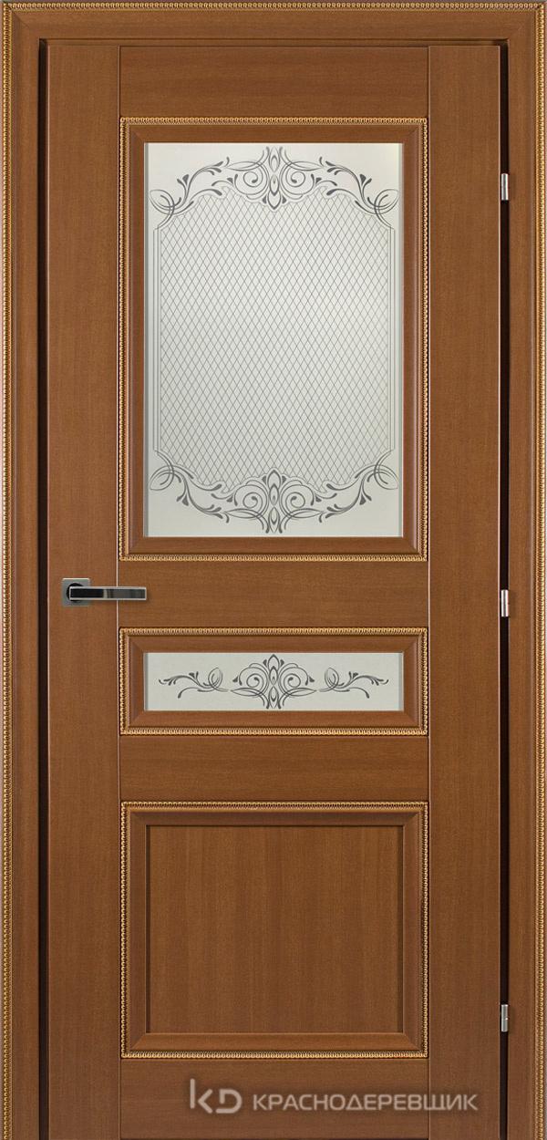 3000 ГрОрехДекорКосичкаCPL Дверь 3344 ДО 21- 9 (пр/л), с фурн., Денор