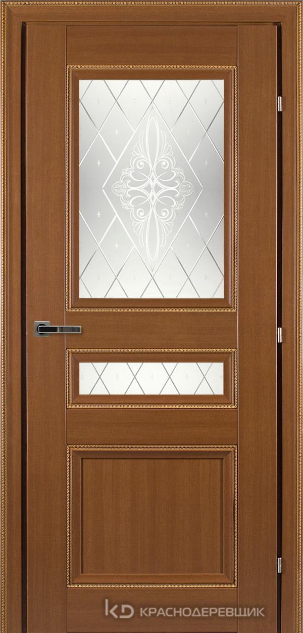3000 ГрОрехДекорКосичкаCPL Дверь 3344 ДО 21- 9 (пр/л), с фурн., Роса