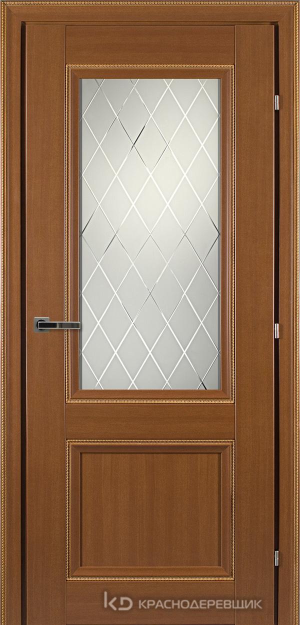 3000 ГрОрехДекорКосичкаCPL Дверь 3324 ДО 21- 9 (пр/л), с фурн., Кристалл