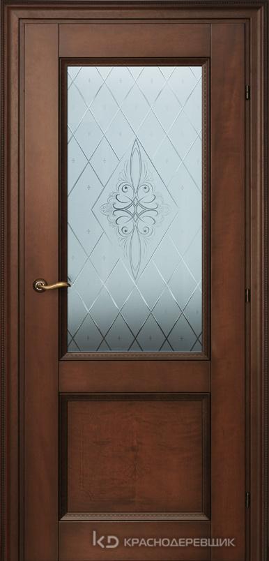 3000 КофеГРАВИР Дверь 3324 ДО 21- 9 (пр/л), с фурн., СтеклоРоса