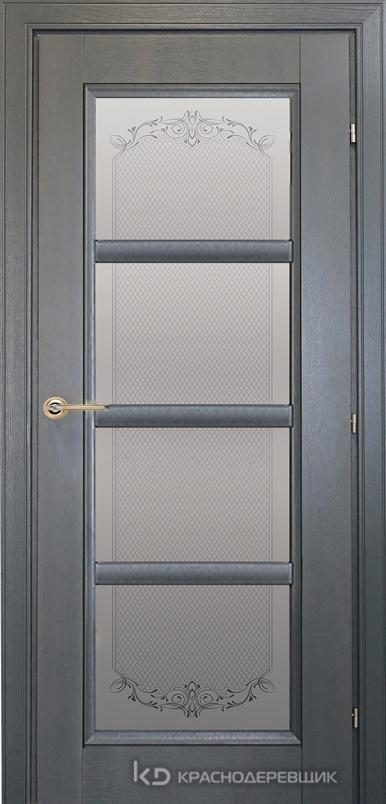 3000 ШпонДубаЭмальСерый Дверь 3340 ДО 21- 9 (пр/л), с фурн., Денор