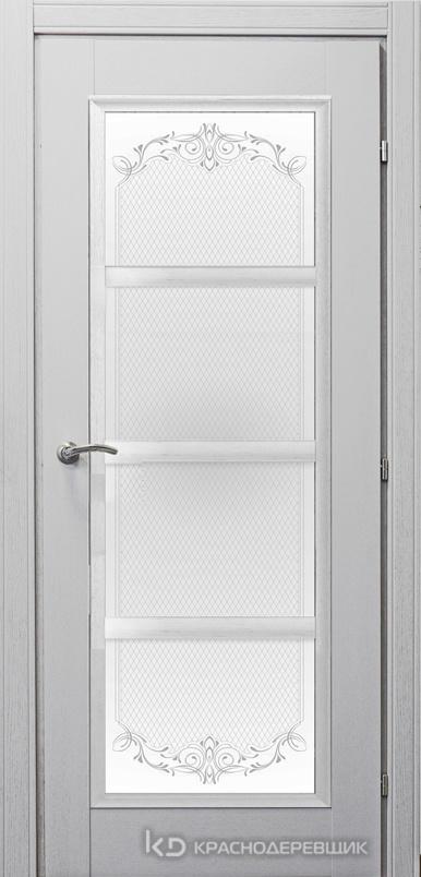 3000 ШпонДубаЭмальСветлоСерый Дверь 3340 ДО 21- 9 (пр/л), с фурн., Денор