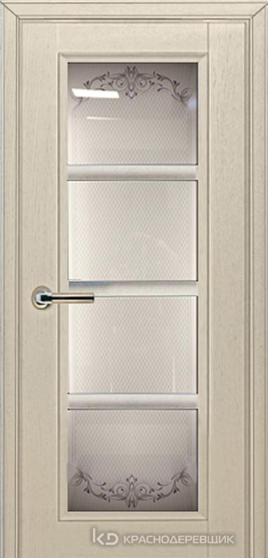 3000 ШпонДубаЭмальЖемчужный Дверь 3340 ДО 21- 9 (пр/л), с фурн., Денор