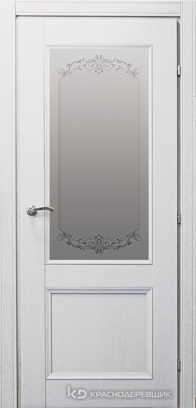 3000 ШпонДубаЭмальБелый Дверь 3324 ДО 21- 9 (пр/л), с фурн., Денор