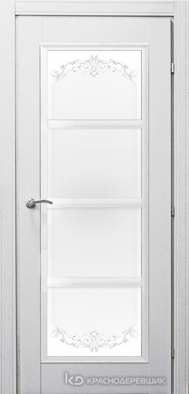 3000 ШпонДубаЭмальБелый Дверь 3340 ДО 21- 9 (пр/л), с фурн., Денор