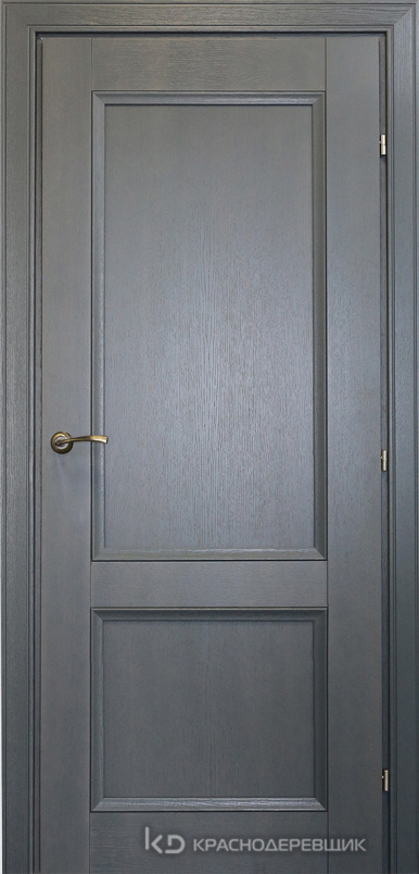 3000 ШпонДубаЭмальСерый Дверь 3323 ДГ 21- 9 (пр/л), с фурн.