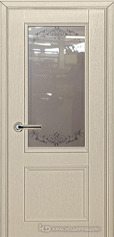 3000 ШпонДубаЭмальЖемчужный Дверь 3324 ДО 21- 9 (пр/л), с фурн., Денор
