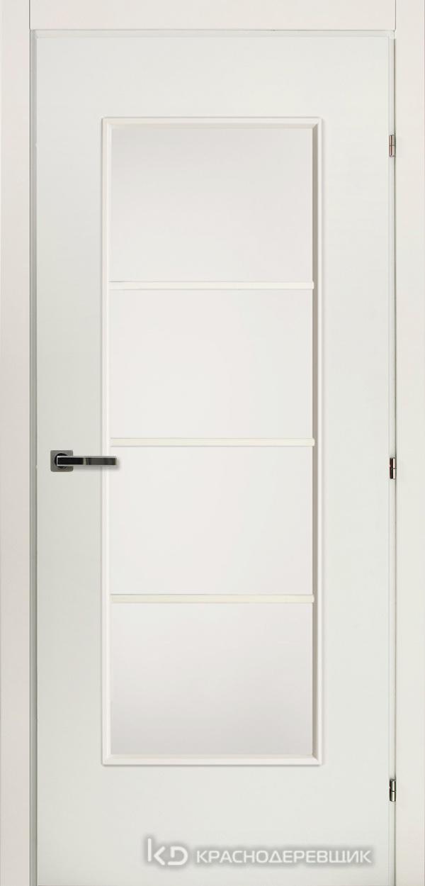 5000 БелыйCPL Дверь 5040 ДО 21- 9 (пр/л), с фурн., МатСтекло